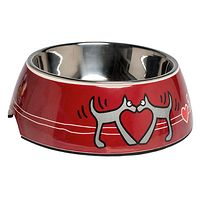 Rogz Bubble Bowl - Red Heart