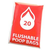 Flushable Poop Bags