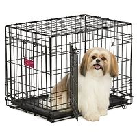 Life Stages Double Door Dog Crate 24""