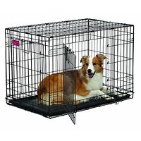 Life Stages Double Door Dog Crate 36""