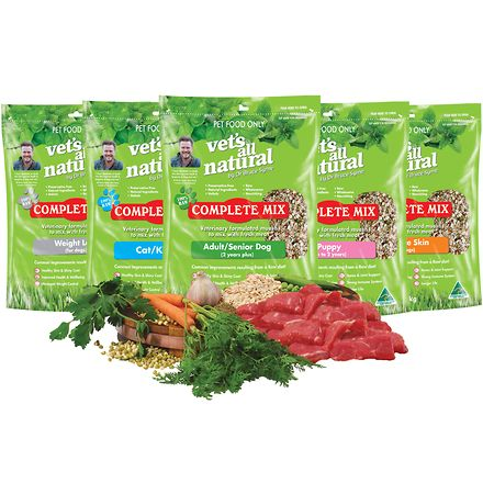 Vets all natural complete mix adult senior premium for All natural pet cuisine