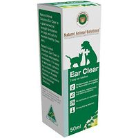 Ear Clear - Naural Animal Solutions 50ml