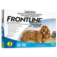 Frontline Plus - Medium Dog 10-20kg - Blue 3pk