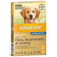 Advocate - Dogs over 25 kgs - Blue 3pk