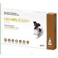Revolution for Dogs 5.1-10kgs - Brown 3pk