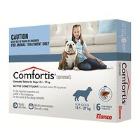 Comfortis Large Dogs 18.1-27kg - Blue 6pk