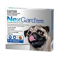 NexGard for Dogs 4.1-10kg - Blue 6pk
