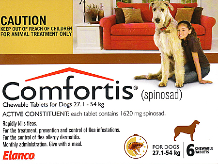 Can I Give My Dog  Comfortis For Dogs