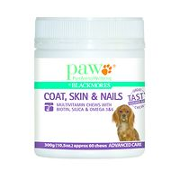 Paw Coat, Skin & Nails Multivitamin Chews 300g