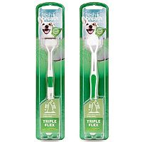 Tropiclean Triple Flex Toothbrush for Dogs