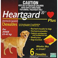 Heartgard Plus Chews Large Brown 6pk