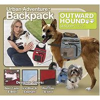 Dog Backpack - Urban Adventure