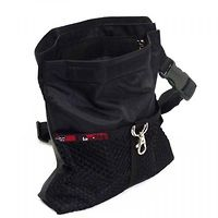 Black Dog Treat Pouch Maxi