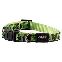 Rogz Fancy Dress Collar - Lime Juice