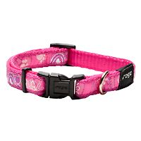Rogz Fancy Dress Collar - Pink Paws