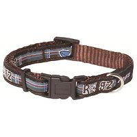 Rogz Fancy Dress Collar - Surf Tartan XL