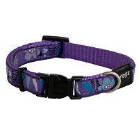 Rogz Fancy Dress Collar - Purple Forest