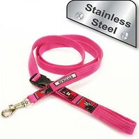 Black Dog Smart Lead Small Stainless Steel 1.5m