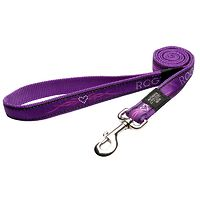 Rogz Fancy Dress Lead - Purple Chrome