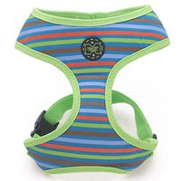 Hamish McBeth Harness - Green Retro Stripes
