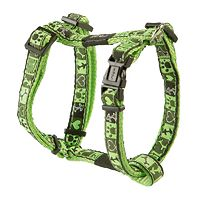 Rogz Fancy Dress Harness - Lime Juice
