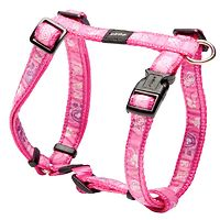 Rogz Fancy Dress Harness - Pink Paws