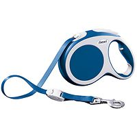 Flexi Vario Retractable Dog Lead 3m - Blue XS