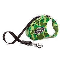 Flexi Retractable Fashion Dog Lead - Small Camo