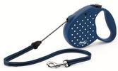 Flexi Retractable Dog Leash Dots
