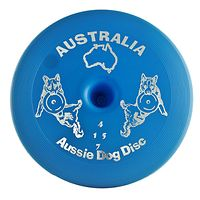 Aussie Dog Flying Disc - Frisbee - Blue Floppy