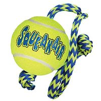 Kong AirDog Squeaker Ball with Rope
