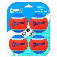 Chuckit Tennis Ball Medium 4pk