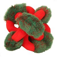 Loopies Christmas Red & Green Hedgehog