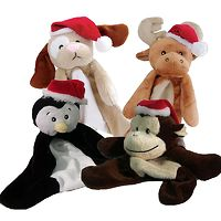 Dogit Luvz Christmas Plush Flopper