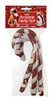 Christmas Striped Rawhide Dog Candy Canes