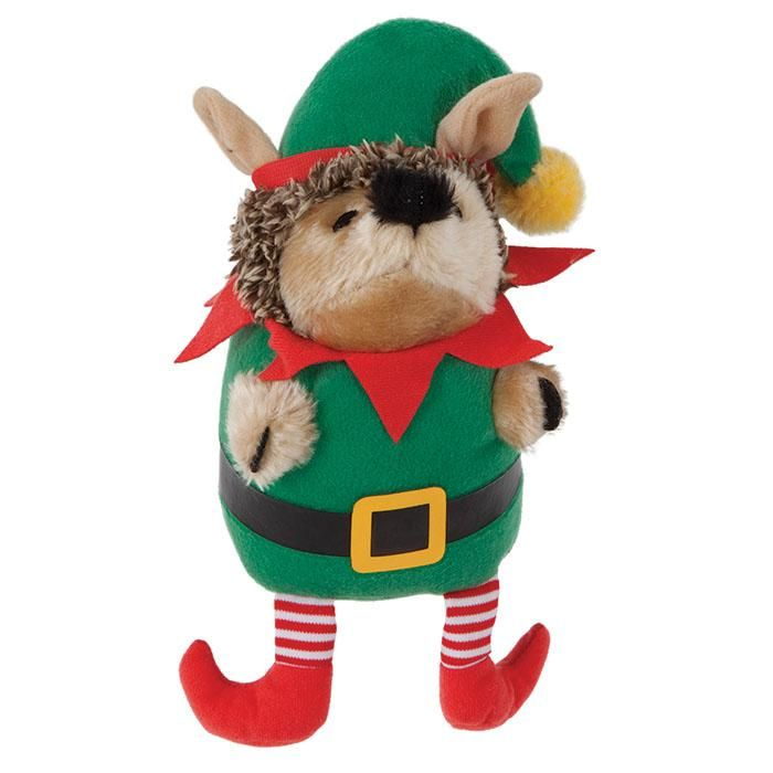 holiday heggie elf dog toy christmas dog toys ozpetshop