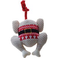 Christmas Snuggle Friends - Plush Headless Turkey with Rope