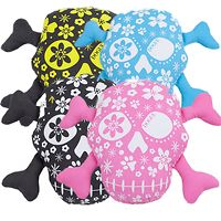 DOGUE Canvas Skull & Dog Bones Toy