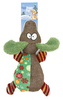 Plush Christmas Smiley Cat Dog Toy