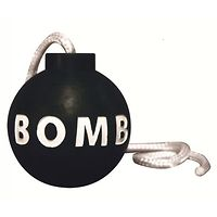 Tuffy Rugged Rubber Bomb Toy