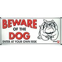 Beware of the Dog Gate Sign Small