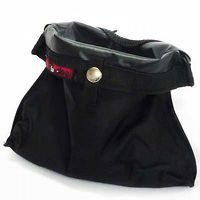 Black Dog Treat Pouch Sock Regular