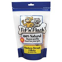 Fit n Flash Chicken Breast Dog & Cat Treats 100g