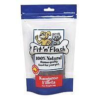 Fit n Flash Kangaroo Fillets Dog & Cat Treats