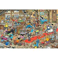 The Dog Show Jigsaw Puzzle