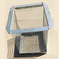 Wire Mesh Cover for Globe - Galvanised  X-Large